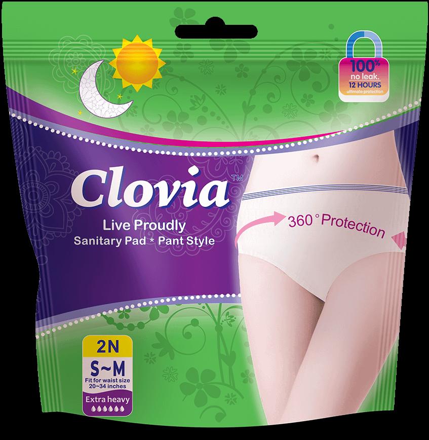 Clovia disposable period panties, Size: S ~ M